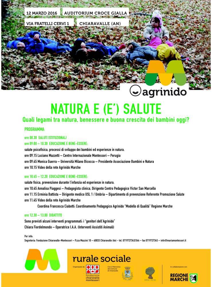 convegno natura e salute Natura e (é) salute   Chiaravalle