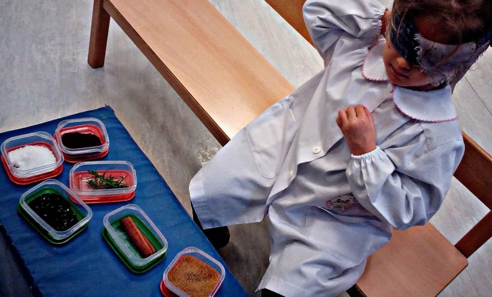 Integrazione sensoriale nella prima infanzia