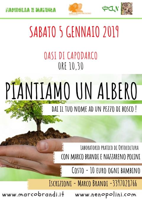 PIANTIAMO UN ALBERO 2019 Piantiamo Un Albero@Capodarco
