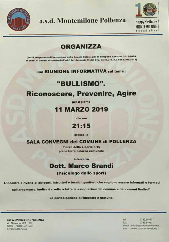 img 20190304 104158 021863683129 Incontro sul bullismo a Pollenza